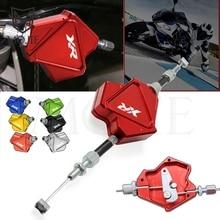 Motosiklet CNC alüminyum dublör debriyaj kolu kolay çekme halatı sistemi HONDA XR230 XR250 XR400 MOTARD XR 230 250 400