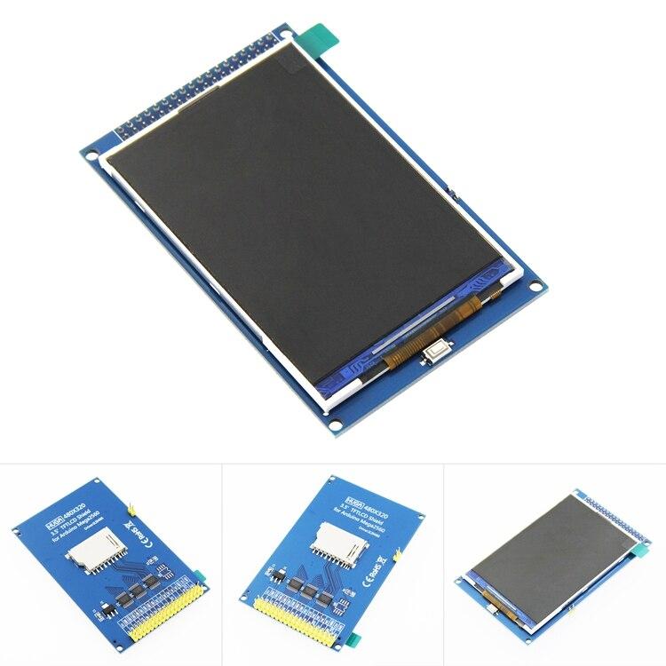 ¡Envío Gratis! Módulo de pantalla LCD TFT de 3,5 pulgadas Ultra HD 320X480 para placa Arduino MEGA 2560 R3