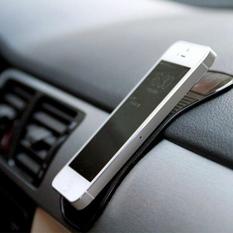 Mini maletero de coche tablero soporte con adhesivo para teléfono antideslizante nano Gel adhesiva Pad Mat accesorios Interior de adsorción fuerte Collant