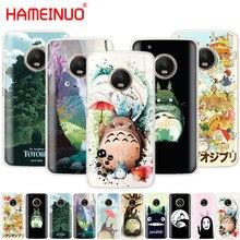 HAMEINUO mon voisin Totoro Anime housse de téléphone pour Motorola Moto X4 E4 C G6 G5 G5S G4 Z2 Z3 PLAY PLUS