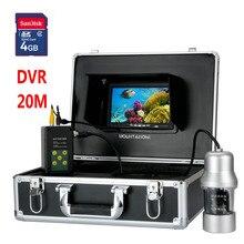 Système de caméra vidéo sous-marine   Enregistreur DVR, 7 pouces TFT, 0- 360 degrés, télécommande, 14x blanc Lights14x blanc