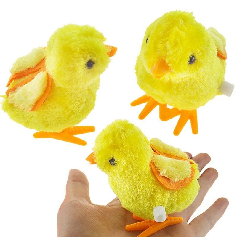 1 Uds. Reloj de juguete educativo de felpa para niños, juguetes para saltar y caminar para niños y bebés