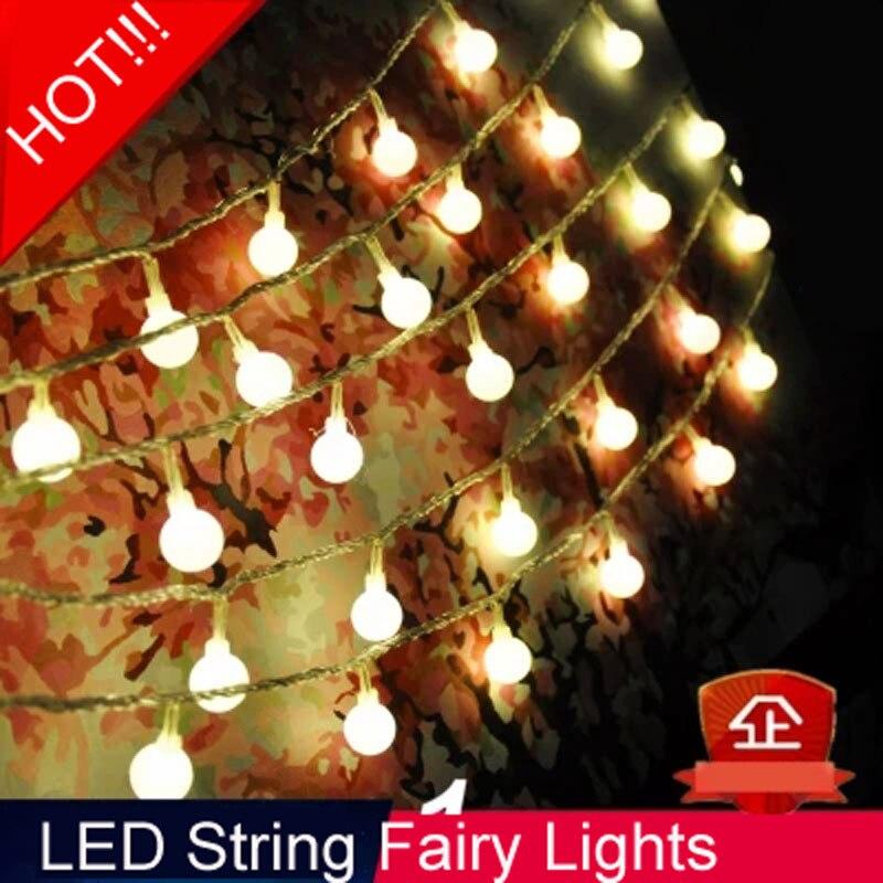 Guirnaldas De Luces LED De Navidad para el hogar, Guirnalda De Año...