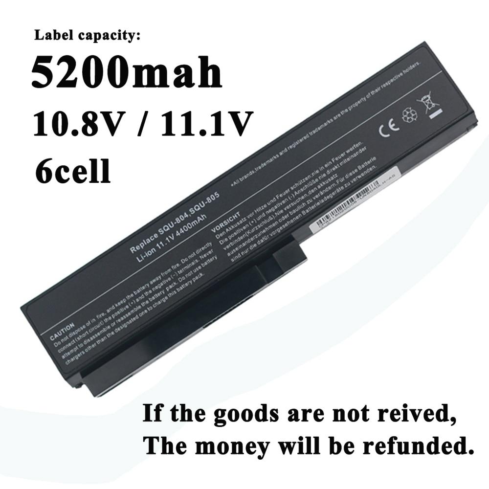 Аккумулятор для ноутбука LG R480 R490 R500 R510 R560 R570 R580 R590 R410 E210 E310 E300 EB300 SQU-804 SQU-805 SQU-807 SQU-904