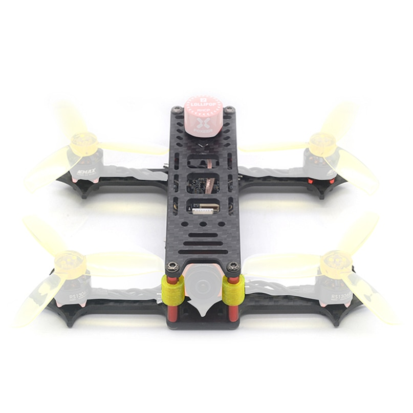 135mm 3 pouces empattement 3K en Fiber de carbone cadre Kit pour RC Drone Multicopter bricolage moteur Drone accessoires