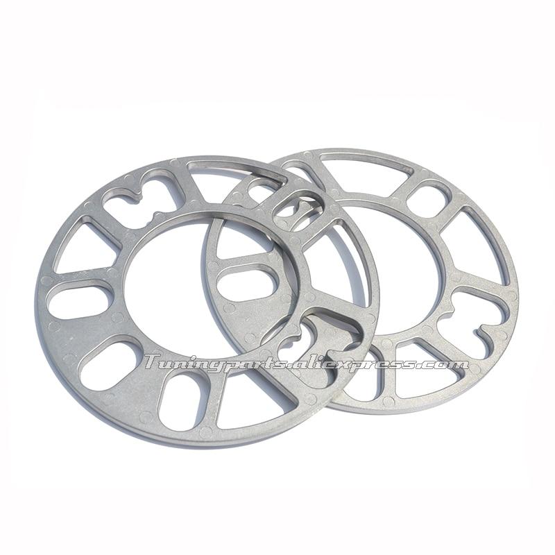 2 piezas 10mm PCD 4x98 4x100 4x4x108 114,3 5x100 5x105 5x108 5x112 5x114,3 5x120 Hub centrado en espaciador de rueda