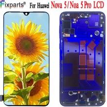 Dorigine Huawei Nova 5 Pro LCD SEA-AL10 SEA-TL10 Verre Nova 5 Écran Tactile Capteur Huawei Nova 5 Pièces de Rechange Daffichage