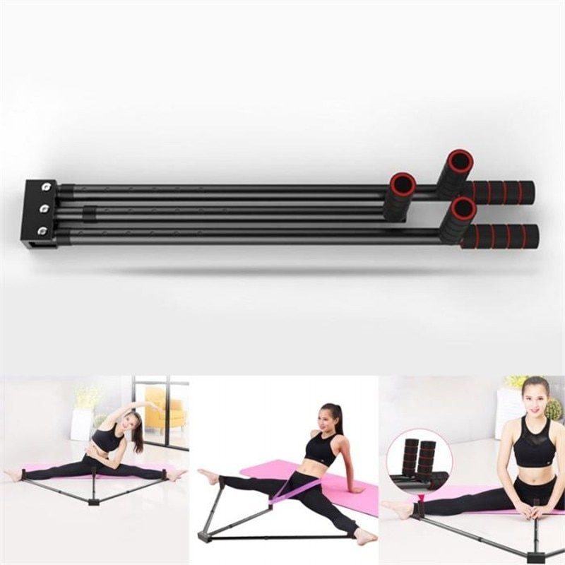 Железные носилки для ног регулируемые 3 бар ноги расширение сплит машина гибкость тренировочный инструмент для балета баланс фитнес оборудование