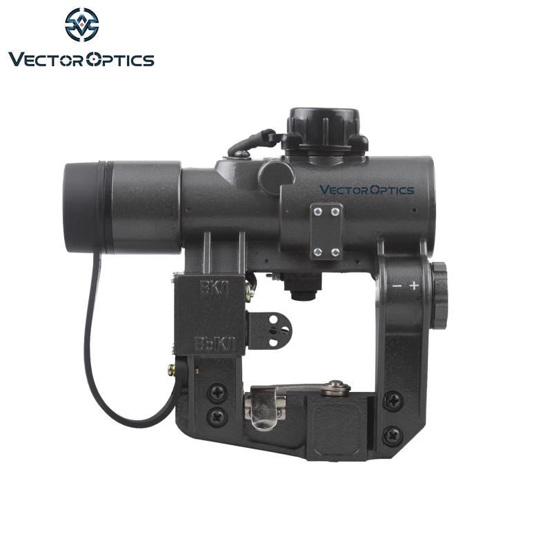 Vector Optics Hunting SVD Dragunov 1x28 punto rojo mira de alcance