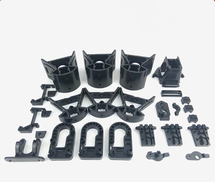 1 Uds. Delta 3D Marco de impresora ABS plástico inyección piezas kit para Reprap Delta Kossel 3D impresora superior/inferior Vertax kit completo