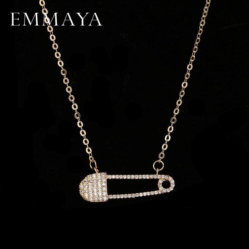 Женское Ожерелье EMMAYA, винтажное ожерелье с кубическим цирконием