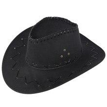Casquette de Cowboy ajustée anti-soleil   Chapeaux de Cowboy respirants, casquette de mode unisexe pour adulte, chapeau de Cowboy de louest décontracté, casquettes de protection solaire pour prairie, nouveau # LR1