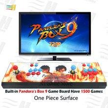 Pandora Box 9 1500 en 1 fer console construit en 1500 jeu darcade HDMI VGA sortie HD 720P boutons personnalisés caractéristiques arcade machine