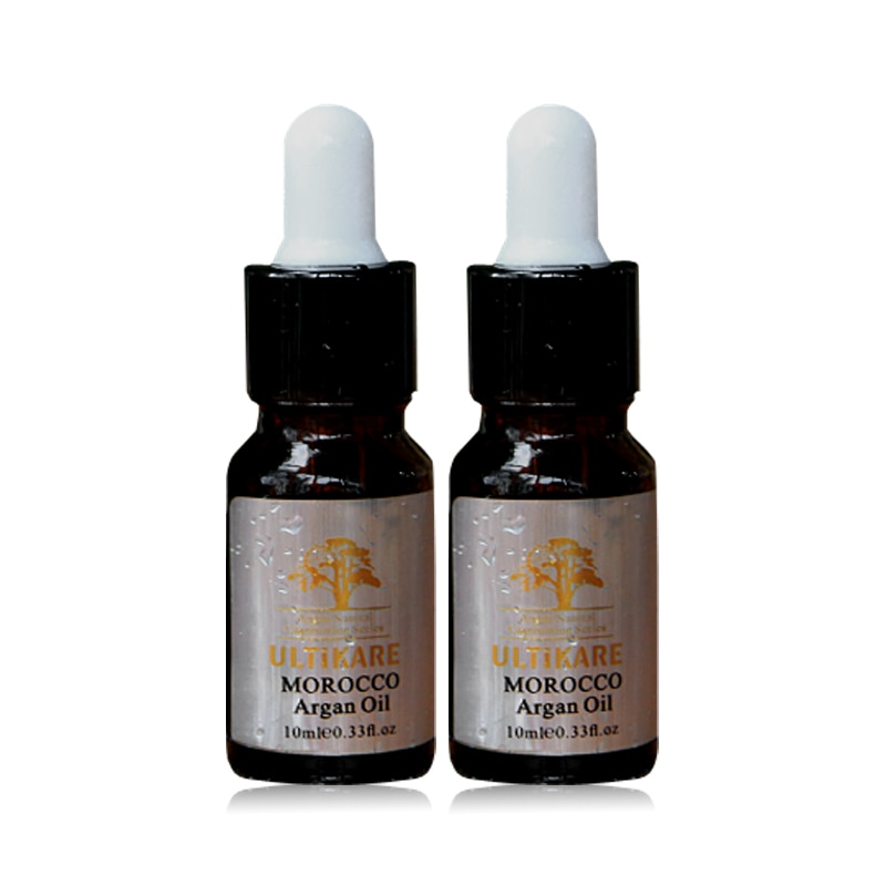 Smallest 2*pcs 10ml Moroccan Argan Oil Hair Treatment Deep Care and Nourish Smooth for Hair With Ric