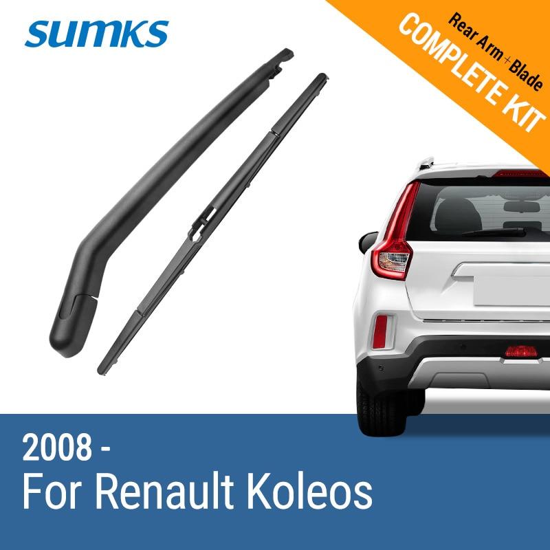 SUMKS Rear Wiper Arm & para Renault Koleos 2008 2009 2010 2011 2012 2013 2014 2015