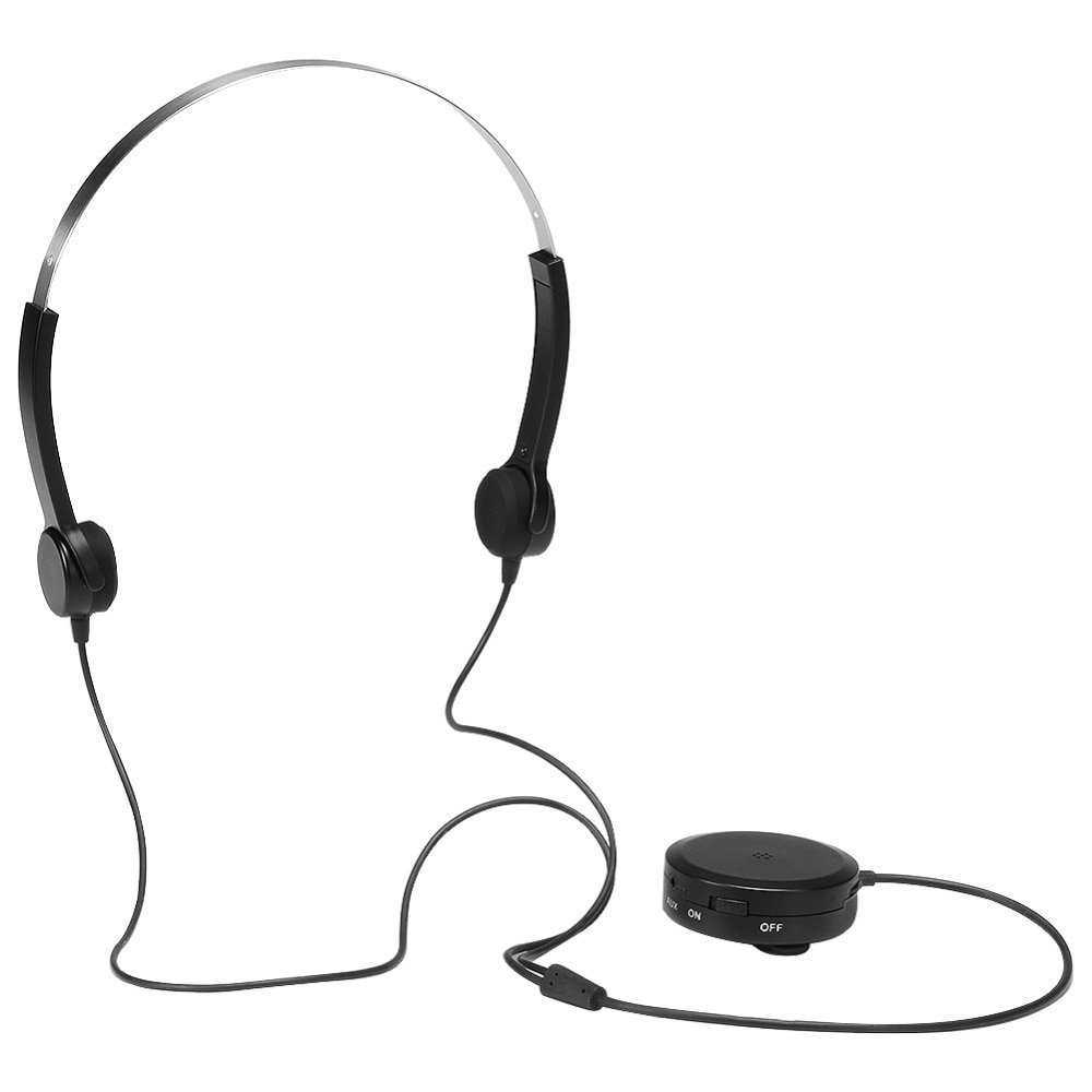 Eastvita Bone Conduction Headphones Hearing Aid Headsets Amplifier Audiphone Deaf Aid Bone Conduction Earphones For difficuties