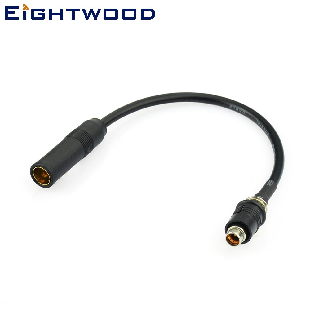Автомобильный антенный адаптер Eightwood AM FM DAB DIN розетка на RAKU RAST II RAST 2 20 см для AUDI SEAT SKODA SMART Ford