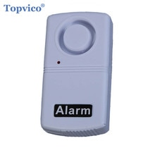 Mini Shock Vibration Alarm Sensor Detector Anti-Theft Home Security Alarm Systems 120dB Voice for Door Window Car