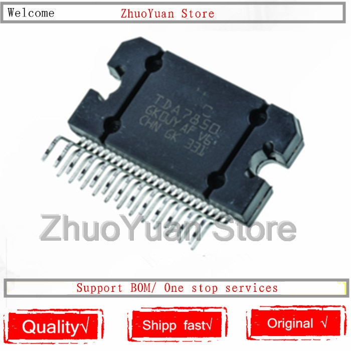 1 unids/lote nuevo original TDA7850 ZIP TDA7850A ZIP-25 IC chip