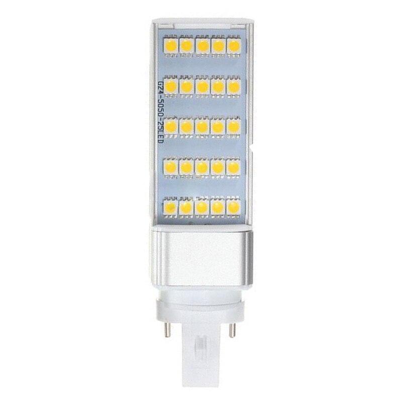 G23 5W 5050 SMD White Led Horizontal Plug Lamp Corn Home Ceiling Warm White Light