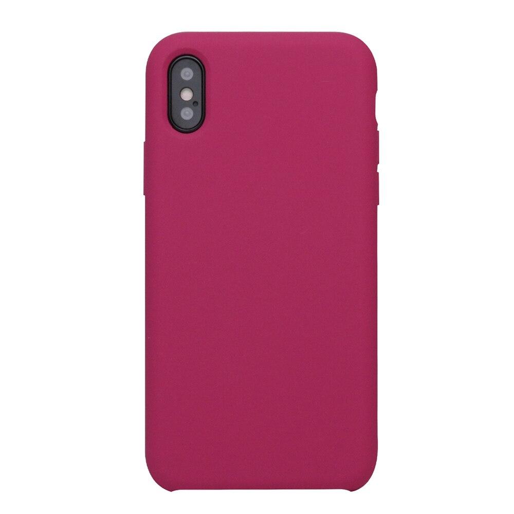 Оригинальный силиконовый чехол Ikase Store для iPhone X 8 8 Plus, чехол для телефона Apple, чехол для iPhone 7 6 6s Plus 5, с розничной коробкой, для iPhone 7 6 6s Plus 5