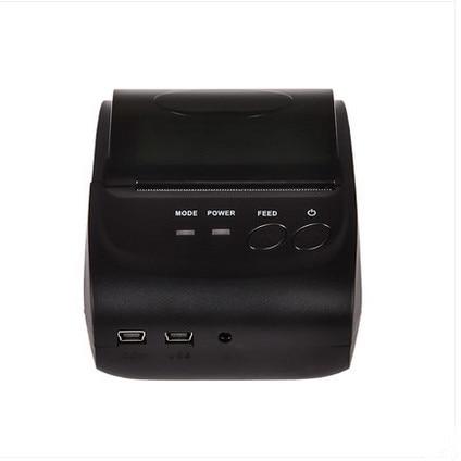 2016 2 Polegadas Espera zj-5802 Bluetooth Móvel Sem Fio 58mm Mini takeaway Portátil Impressora De Recibos Térmica com SDK