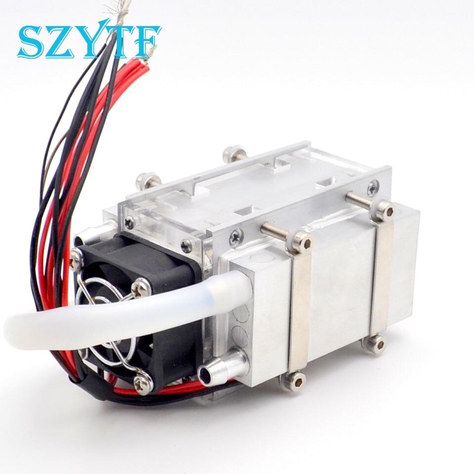 TEC-مبرد أشباه الموصلات ، مكيف هواء ، حركة تبريد ومروحة ، DIY