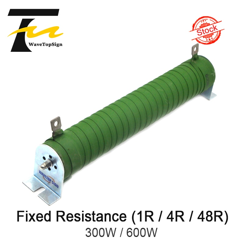 Resistencia fija de arranque ondulada de alta potencia WaveTopSign, potencia de resistencia de frenado de carga 300W 600W