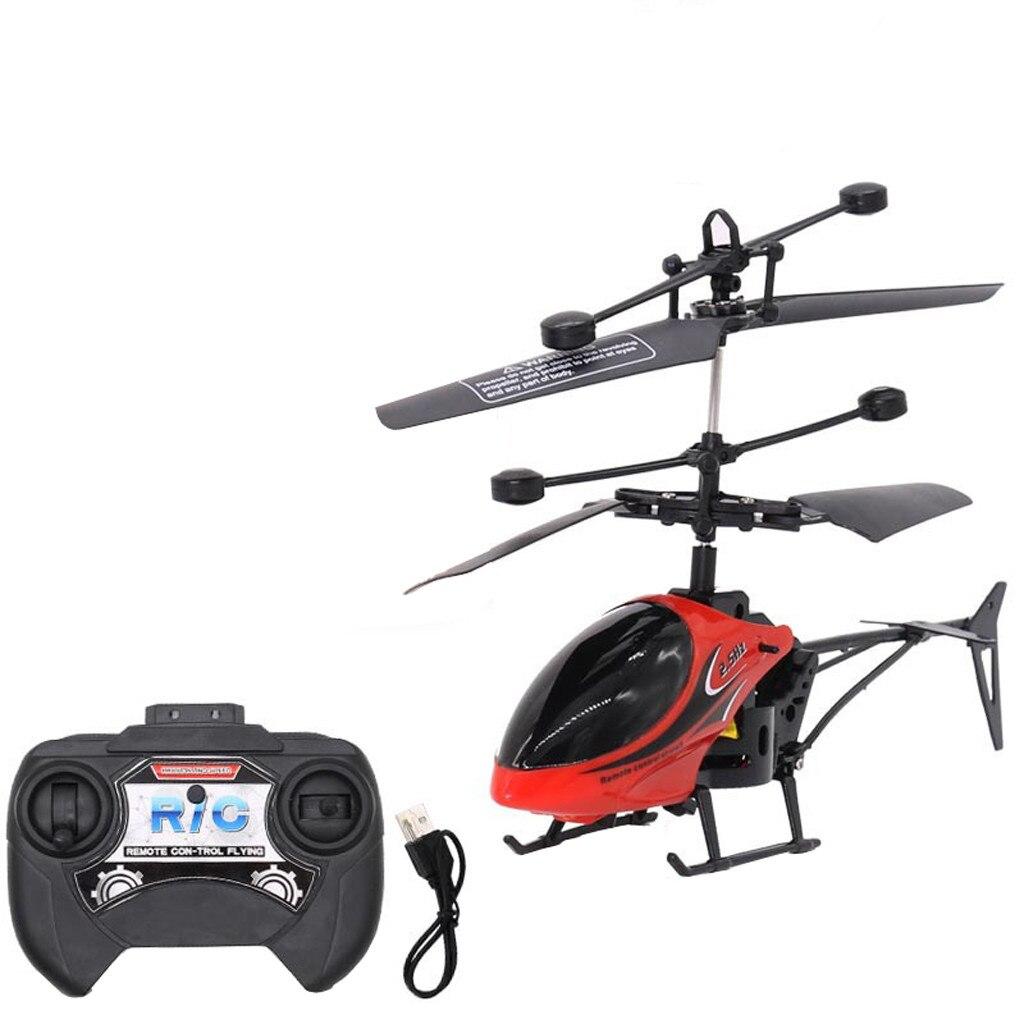 Hiinst helicóptero de controle remoto mini multifuncional voando helicóptero brinquedos para crianças mini rc 15cm giroscópio rc helicóptero