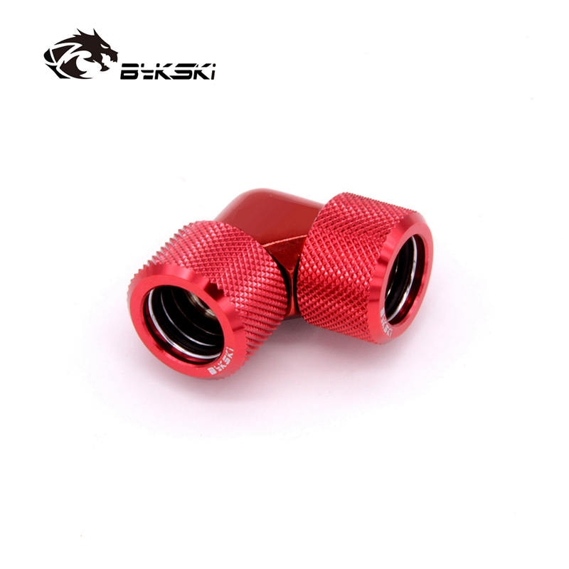 Bykski G1/4'' 90 Degree Rotary Fitting Acrylic Tube 14mm 16mm 12mm Hard Tube Fitting Hand Computer Accesspries Fitting for PETG enlarge