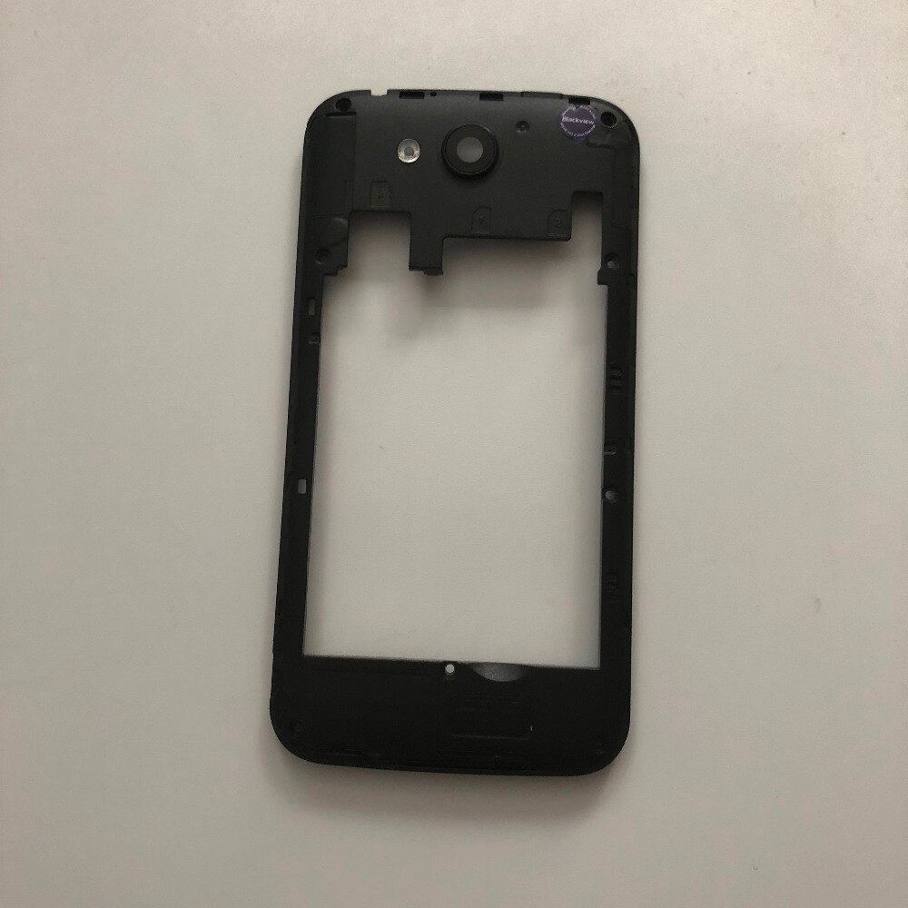 Used Back Frame Shell Case + Camera Glass Lens For Blackview A5 MTK6580 Quad Core 4.5 inch 854x480 Free Shipping enlarge