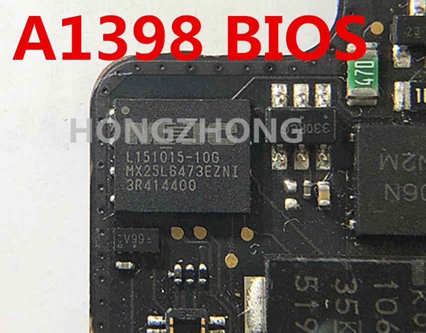 Chip de firmware de bios efi chip para a1398 820-00426-a 820-00163-b 820-00426 mx25l6473ezni