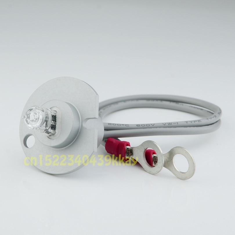 Nouvelle lampe Mindray bs 200/bs220/bs33/bs350/bs800/bs820 de source lumineuse dinstrument biochimique de Mindray 12V20W avec le fil