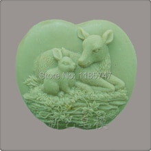 donkey and rabbit shape soap mold/resin craft mold /cake mold/chocolate mold