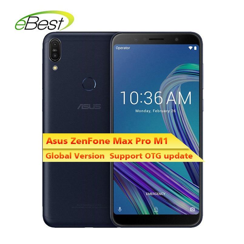 Asus ZenFone Max Pro M1 ZB602KL Smartphone Android 6 pulgadas 189 FHD 4G LTE SnapDragon 636 táctil de 5000mAh teléfono móvil versión Global