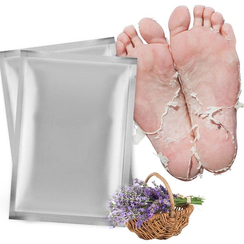 4pcs=2bag Baby Exfoliating Foot Peeling Mask for Legs Socks for Pedicure Feet Care Cream Remove Dead Skin Foot MaskTSLM2