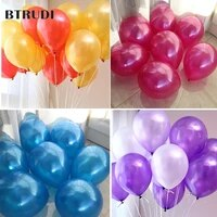 hot sale 50 pcs 10 inch 1 8g birthdaywedding supply latex balloons colorful party latex air baloonballon kids inflatable toy