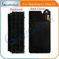 For BlackBerry KEYone DTEK70 DTEK 70 Keyboard Keypad / Back Battery Cover Door Housing Case back cover Replacement Parts
