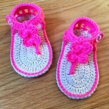 QYFLYXUE handmade Baby garden shoes, summer fashion Bow Shoes