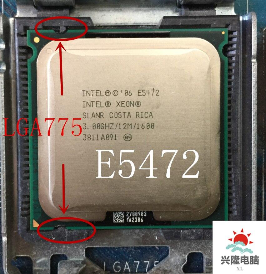 For lntel Xeon E5472  SLANR  3.0GHz/12M/1600Mhz/CPU equal to LGA775 Core 2 Quad Q9550 CPU,works on LGA775 mainboard