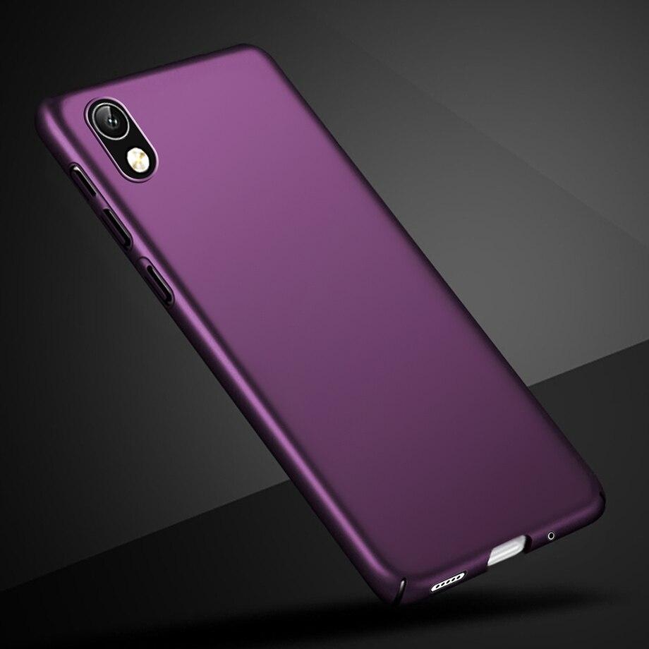 Чехол для Huawei Honor 8 S, чехол для Honor 8 S, 5,7 дюйма, тонкий матовый жесткий черный чехол для телефона Huawei Honor 8 S 8 S S8, KSE-LX9, чехол