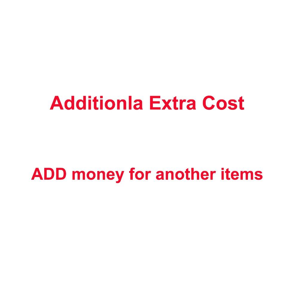 1 $ إضافية تكلفة اضافية لطلبك أو إضافة المال شراء البنود الأخرى
