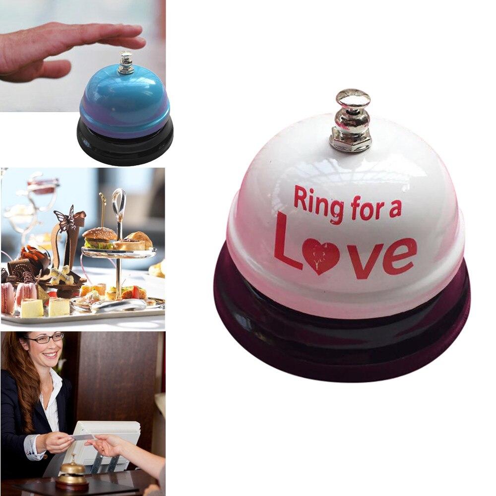 15 # práctico restaurante temporizador Mostrador de Hotel escritorio timbre metálico recepción restaurante cocina Bar servicio de llamada al por mayor