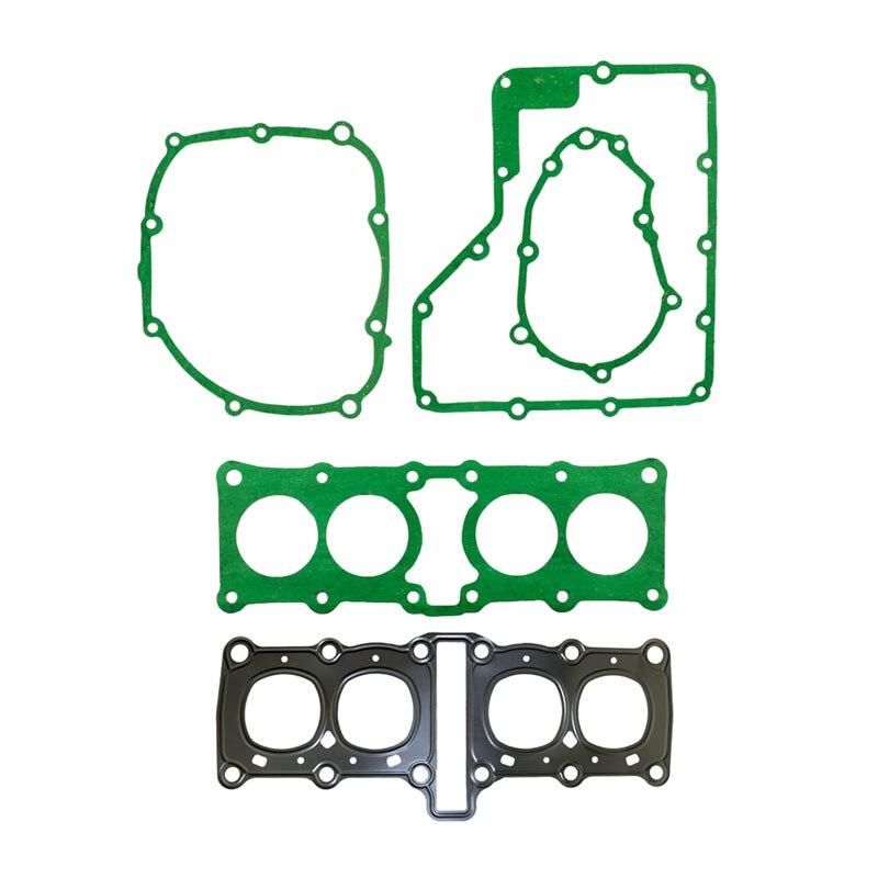 Запасные части для мотоцикла, прокладки головки блока цилиндров статора, прокладка крышки двигателя комплект для Yamaha FZR250 FZR250R FZR250RR 3LN 1HX