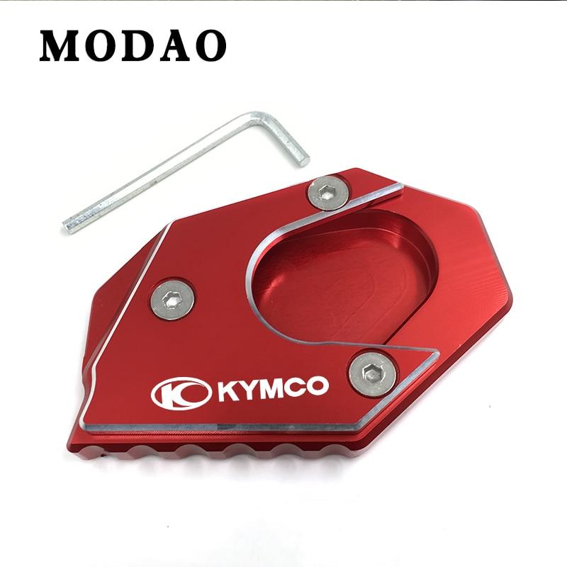 Для KYMCO центр города 200i 300i 350i 300350 CNC мотоцикл удлинитель pad боковой Кронштейн удлинитель пластины pad