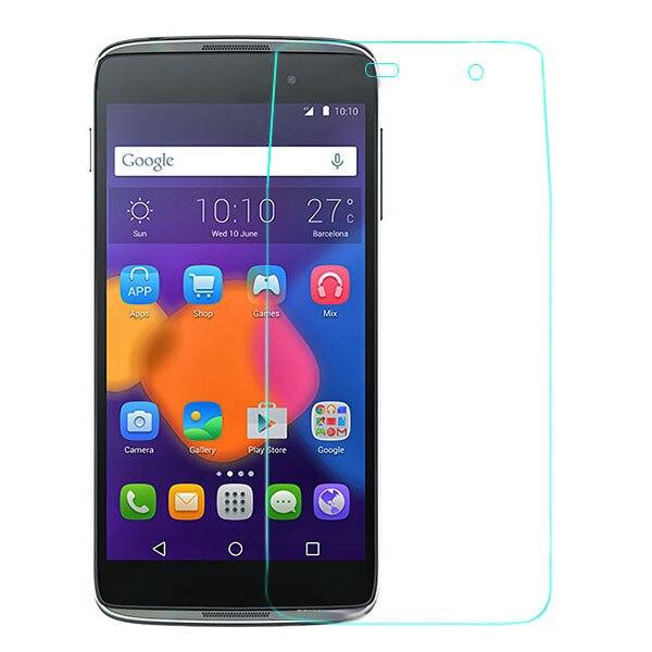 2 uds pantalla templado cristal protector para Alcatel One Touch Pop C3 C5 C7 C9 pixi 3 3,5 4009 4,0 4013 4,5 4027 5,0 idol 3 4,7 5,5