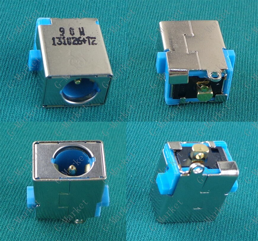 Nuevo DC Power Jack conector para Acer 5251 de 5551 a 5551G 5741 Gateway NV50A NV51B NV53A NV55C DC Jack sin cable azul