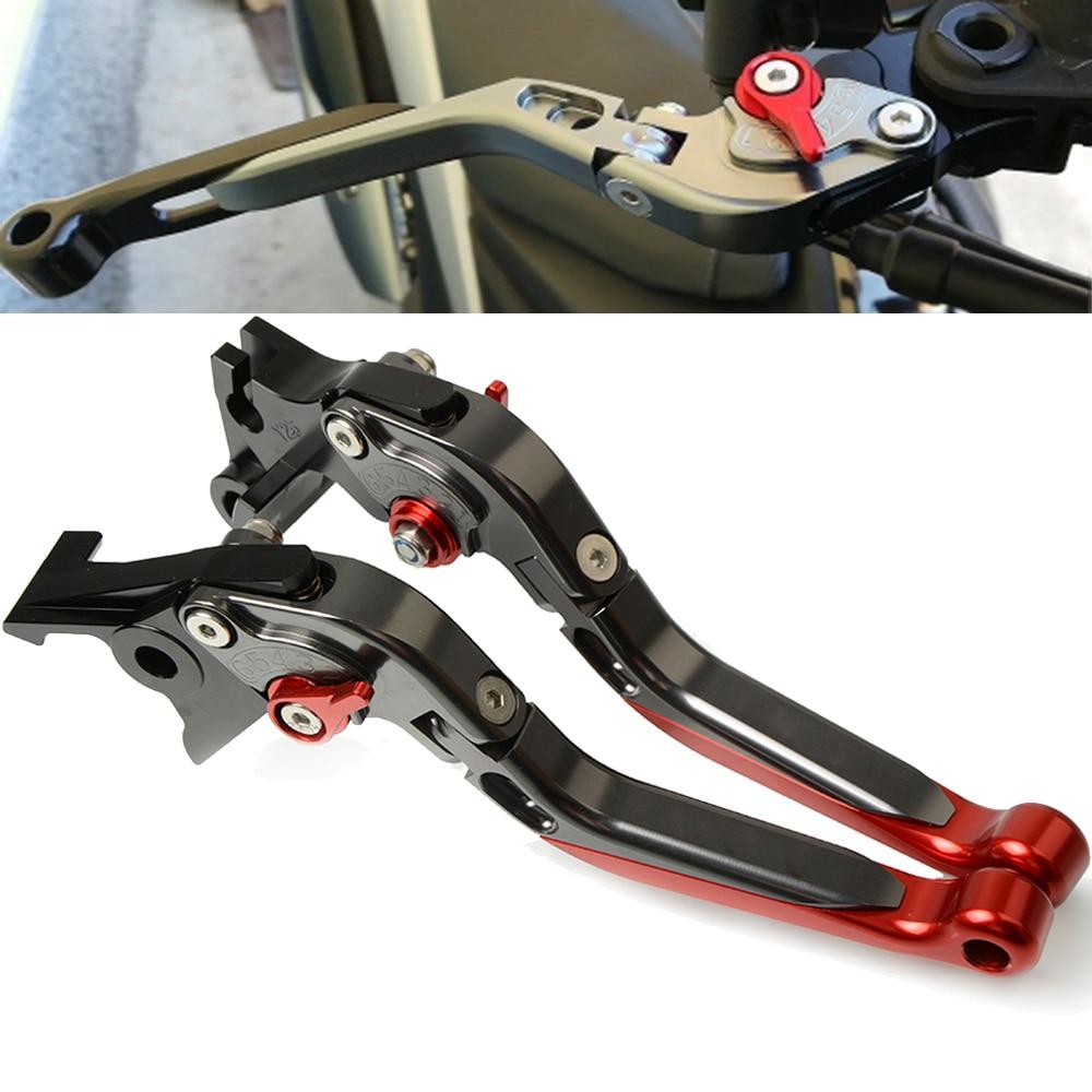 For SUZUKI GSXR 600 K4 K5 GSX-R 600 Motorcycle Brakes Handle CNC Adjustable Foldable brake clutch levers GSXR600 2004-2005