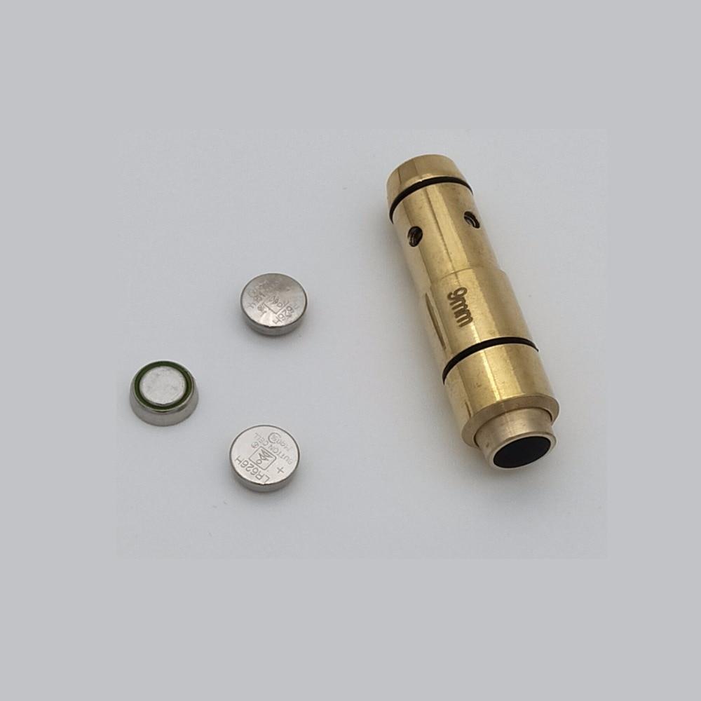 9mm Laser Ammo,Laser Bullet, Laser Ammo, Laser Cartridge for Dry Fire, for Shooting Training
