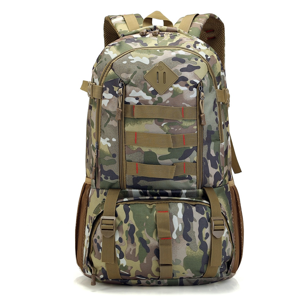 Alto grau 50 L mochila multi-função à prova d água bolsa para laptop homens militar escola mochilas sacos de viagem capacidade super grande saco